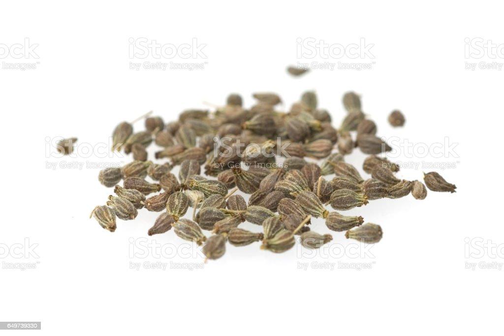 Anis; Pimpinella; anisum, graines, céréales - Photo