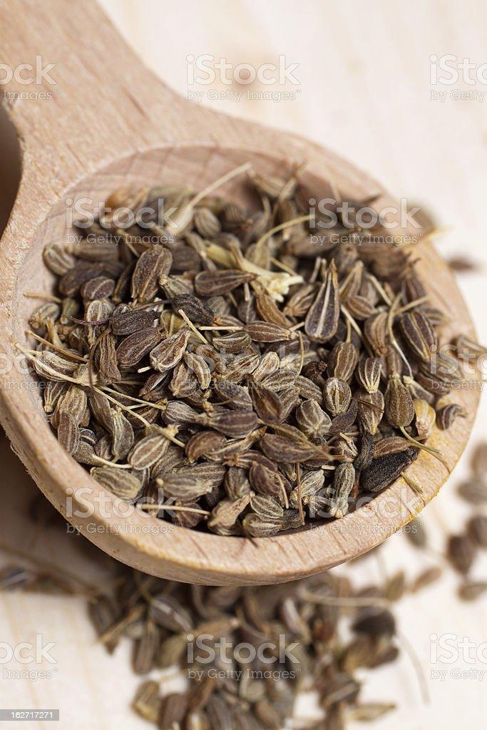 anise seeds stock photo
