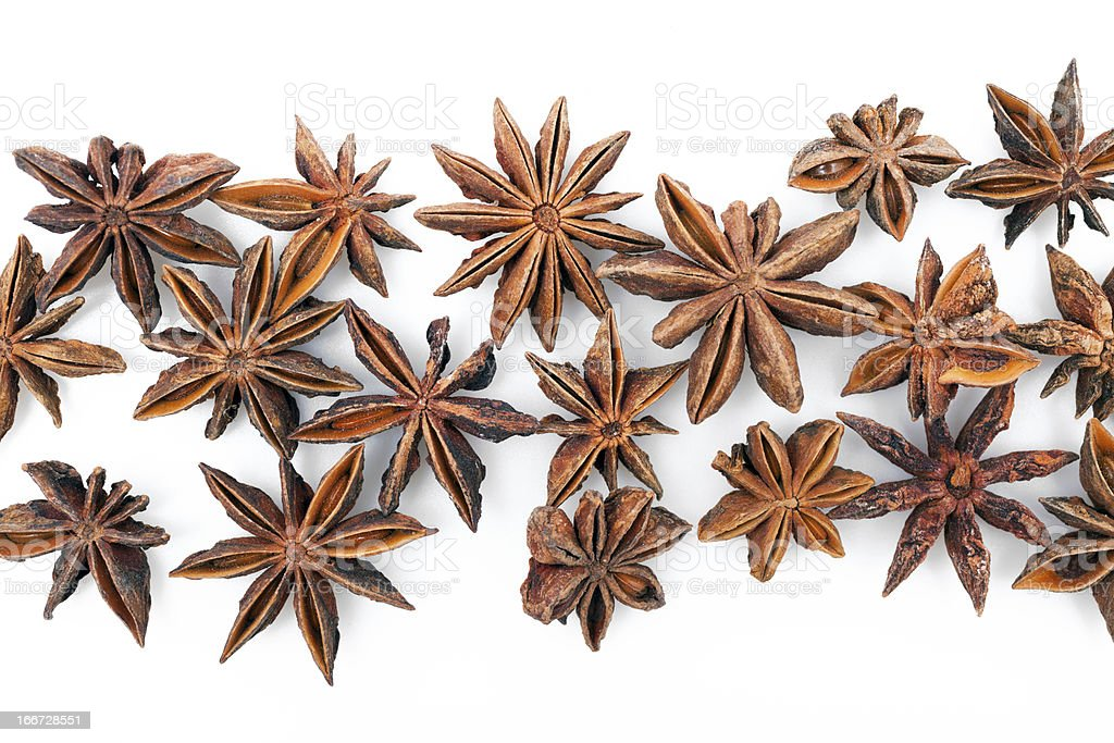 Anise stars royalty-free stock photo