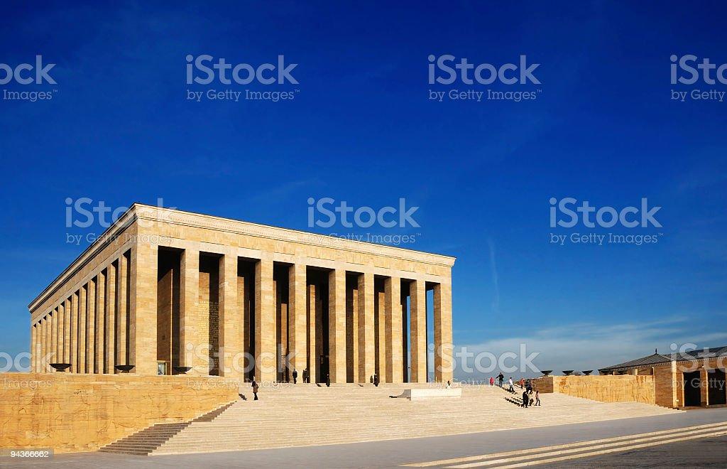 Anitkabir, Ankara, Turkey royalty-free stock photo