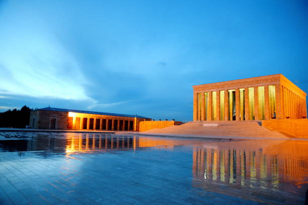 Anitkabir Ankara Turkey stock photo