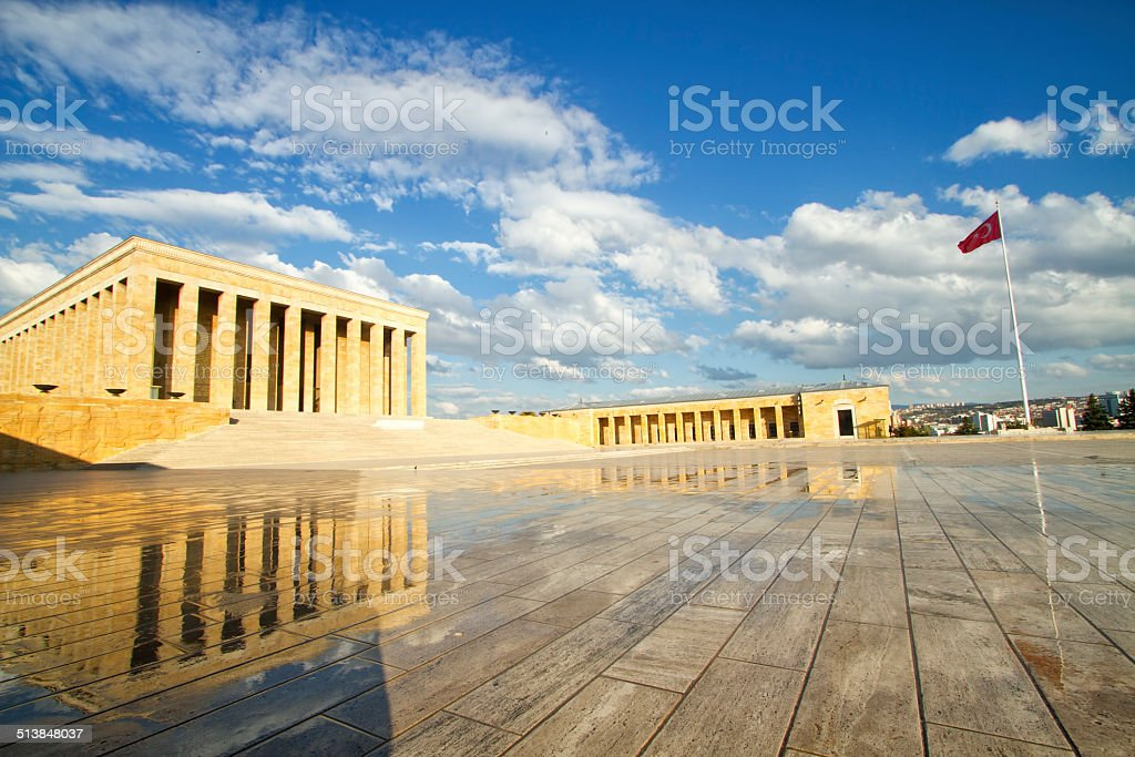 Anitkabir-Mausoleo Ataturk - foto de stock