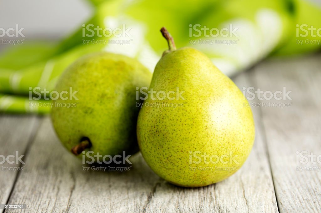 Anjou Pears stok fotoğrafı