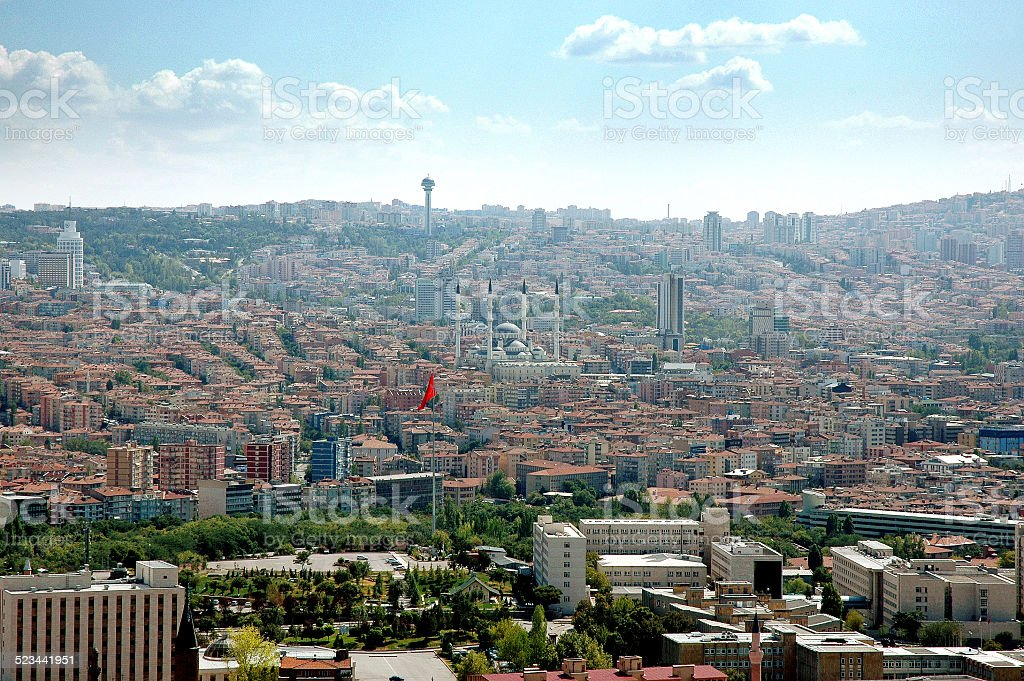 Ankara, Luftaufnahme – Foto