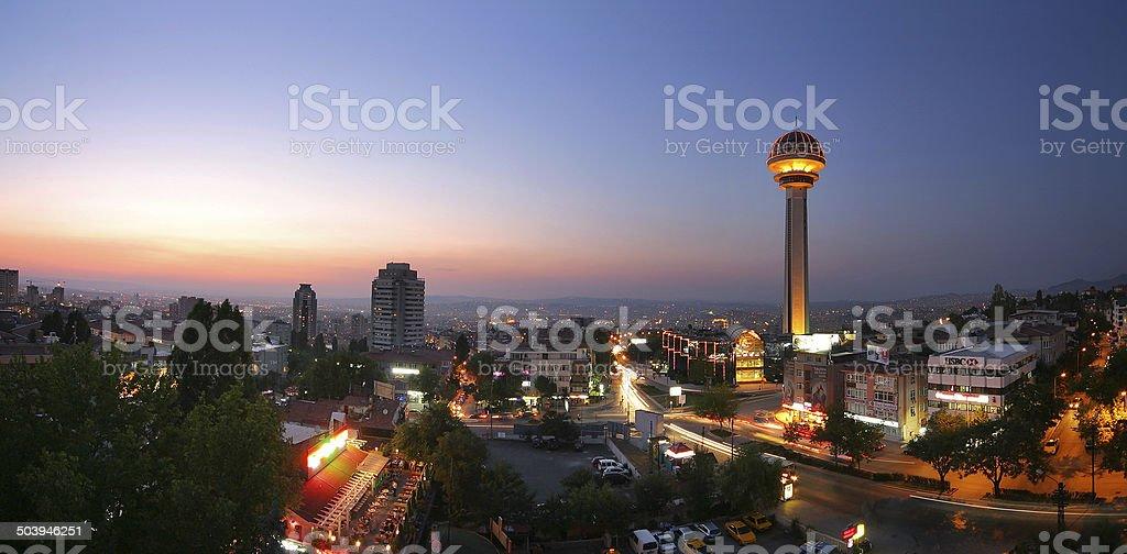 Ankara Atakule - foto de stock