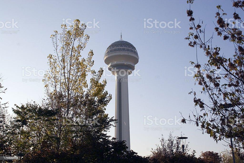 Ankara: Atakule Tower stock photo