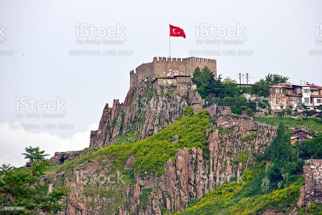 Castillo de Ankara - foto de stock