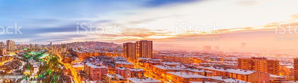 Panorama von Ankara – Foto