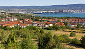 istock Ankaran and the Koper Seaport in the Background 601002100