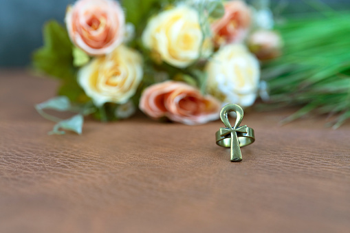 istock Ankh symbol is egyptian for life and immortality 1137931125