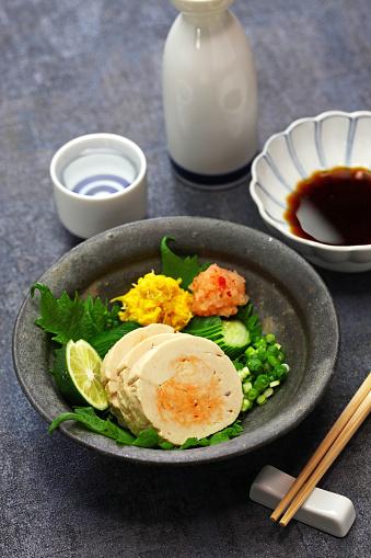 istock ankimo, steamed monkfish liver, japanese cuisine 1249596062