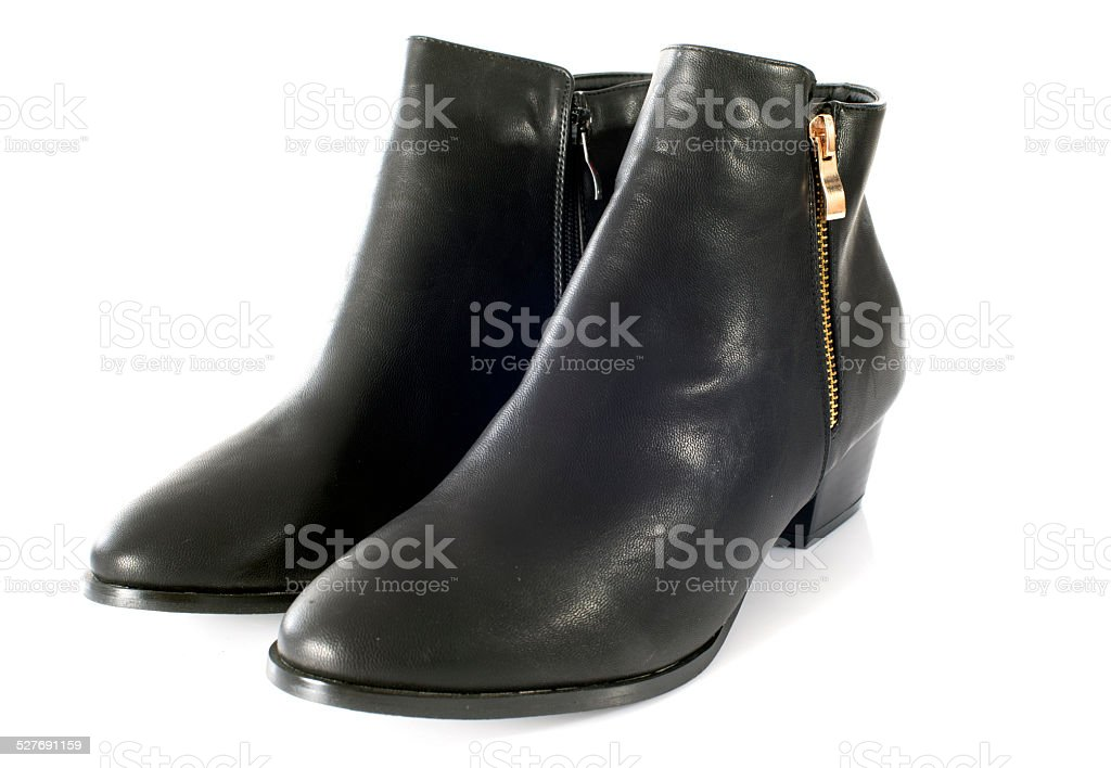 ankle boots stock photo