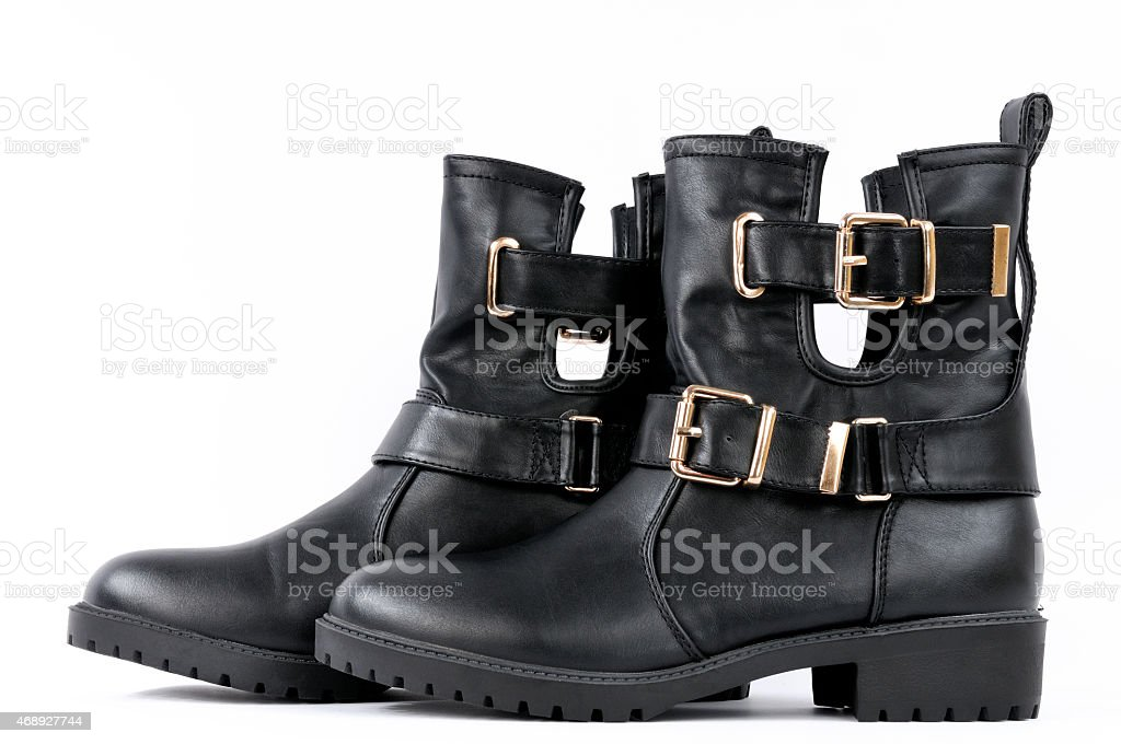 Ankle boots Women stock photo