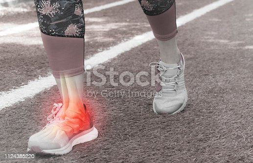 867056016istockphoto Ankle injury and Joint pain-Sports injuries 1124385220