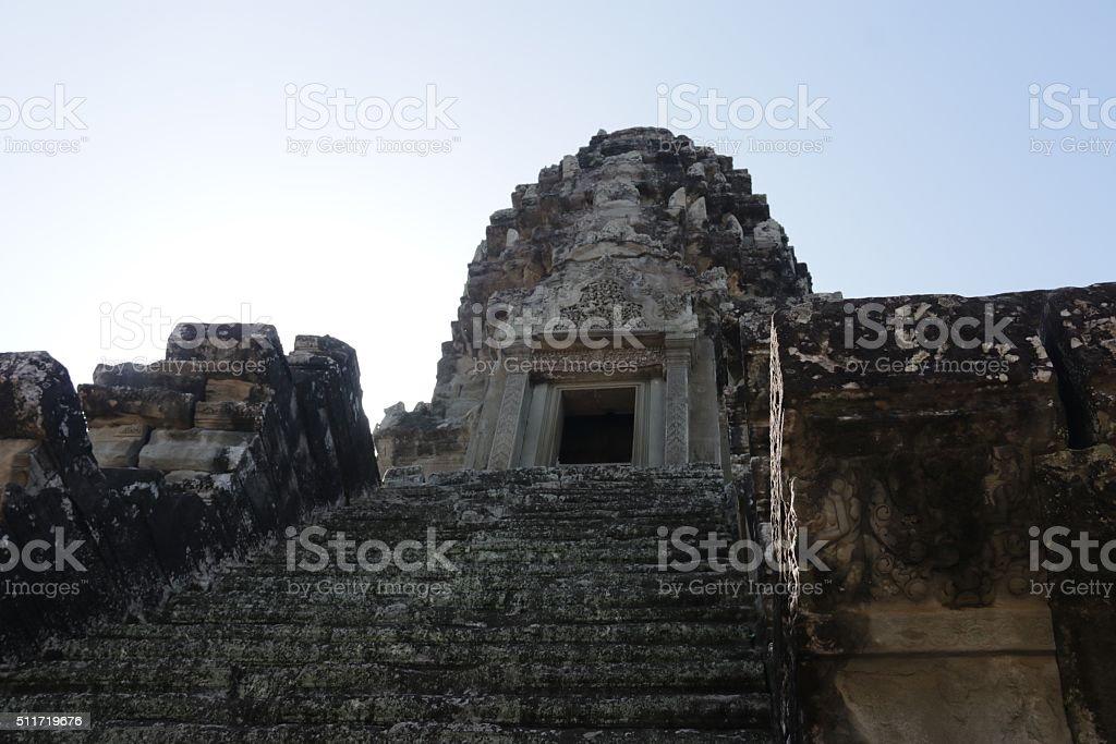 Ankor Temple Cambodia stock photo