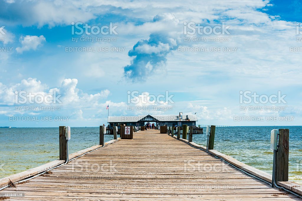 Anna Maria Island City Pier stock photo