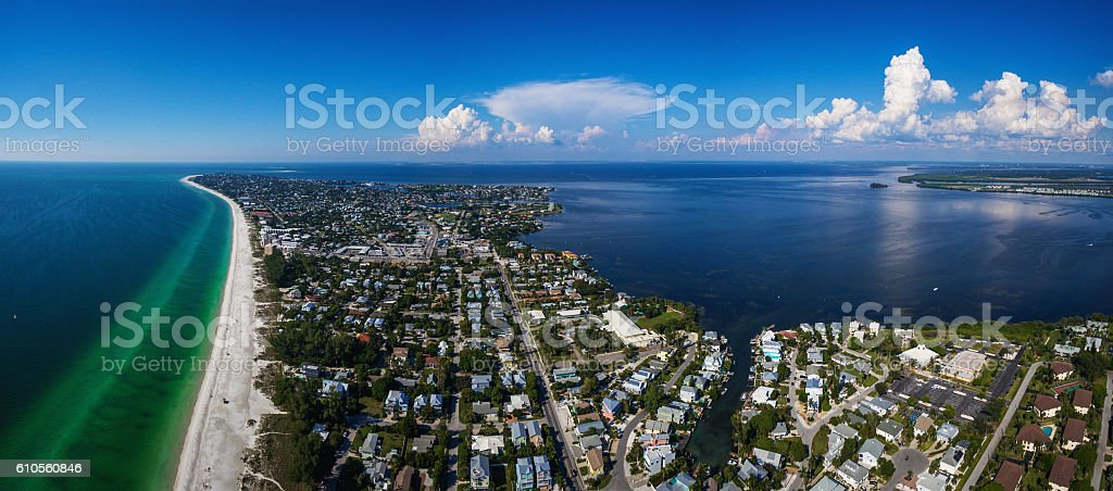 Anna Maria island, Florida stock photo