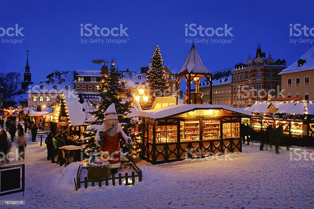 Annaberg-Buchholz christmas stock photo