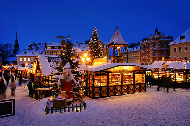 Annaberg-Buchholz christmas stock photo