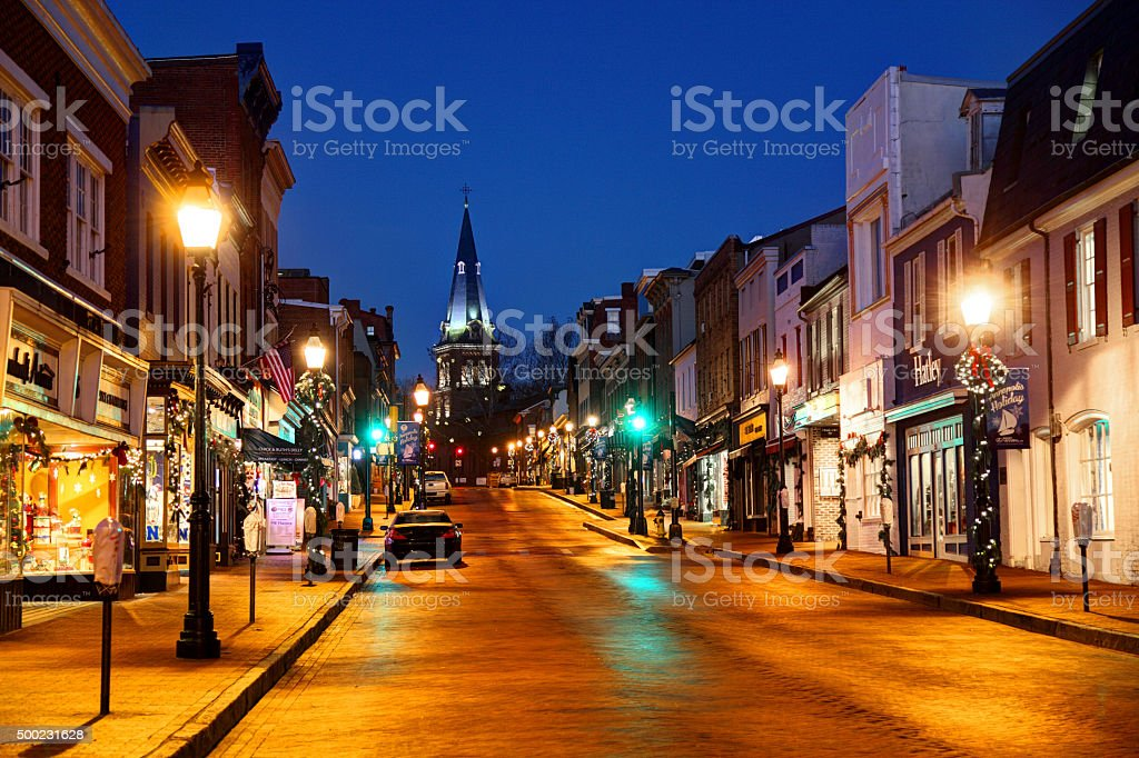Annapolis, Maryland stock photo
