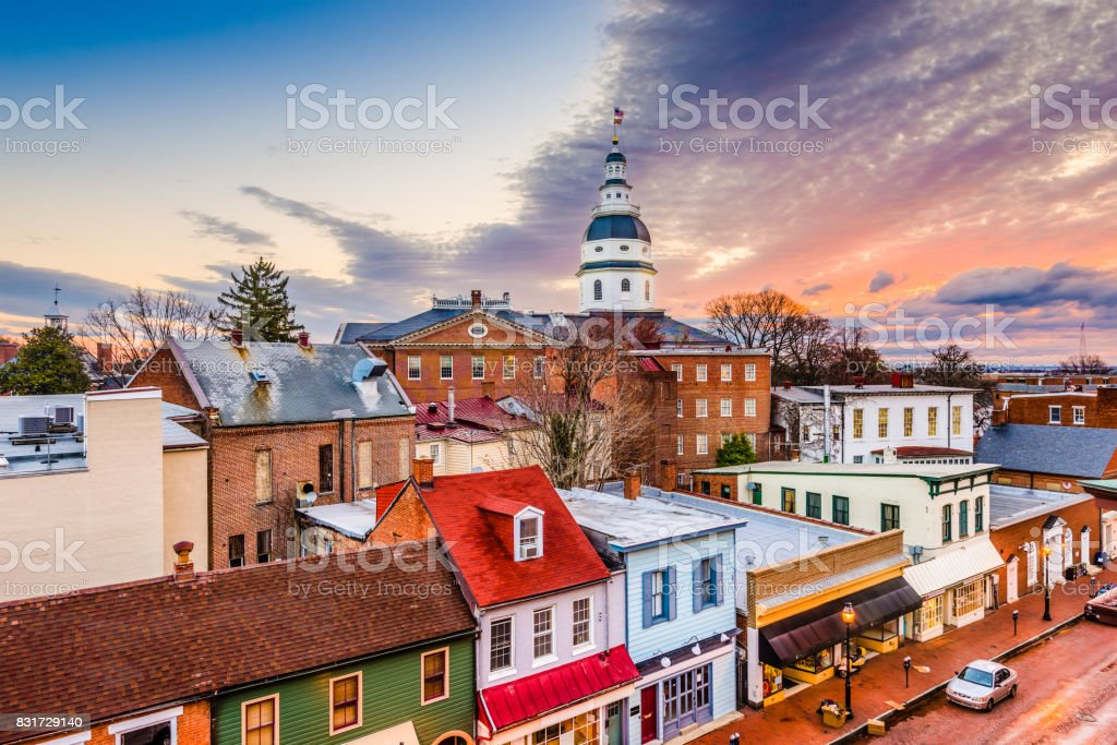 Annapolis, Maryland, USA stock photo