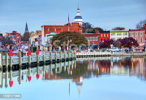 istock Annapolis, Maryland Waterfront 1209121995