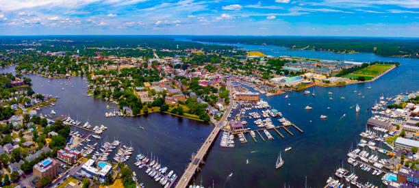 Annapolis,MD Skyline stock photo