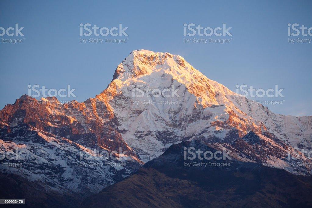 Annapurna Gebiet Berge im Himalaya Nepal – Foto