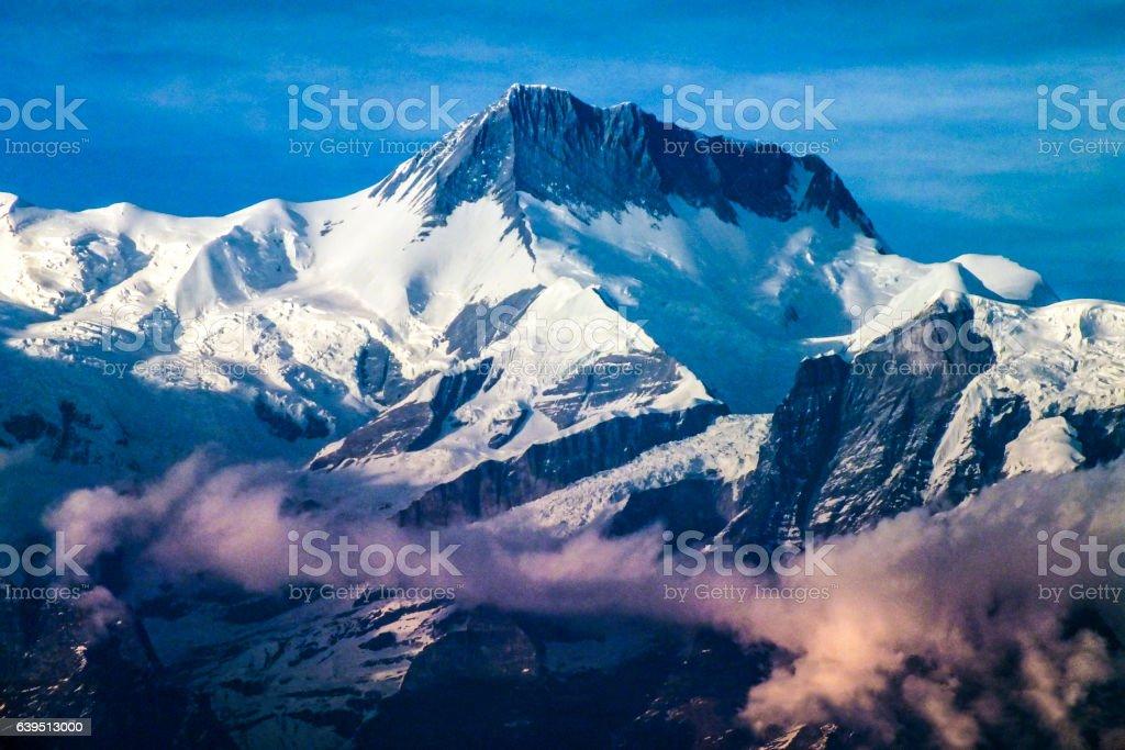 Annapurna Mountain Range stock photo