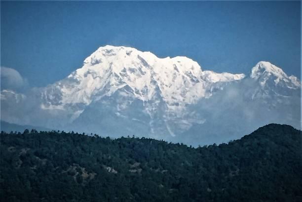 Annapurna Mountains stock photo