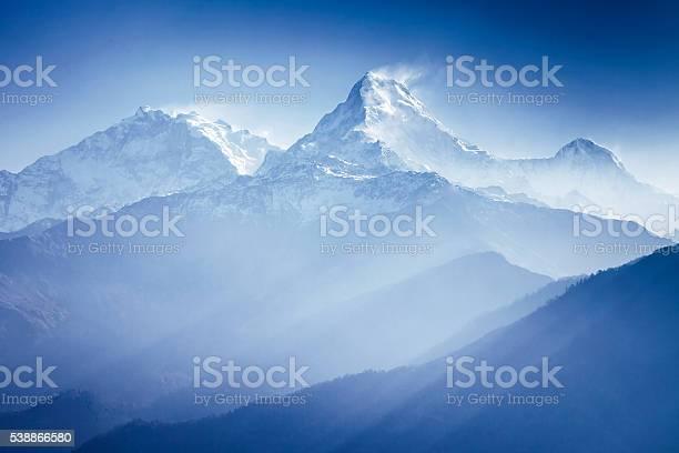 Photo of Annapurna mountains