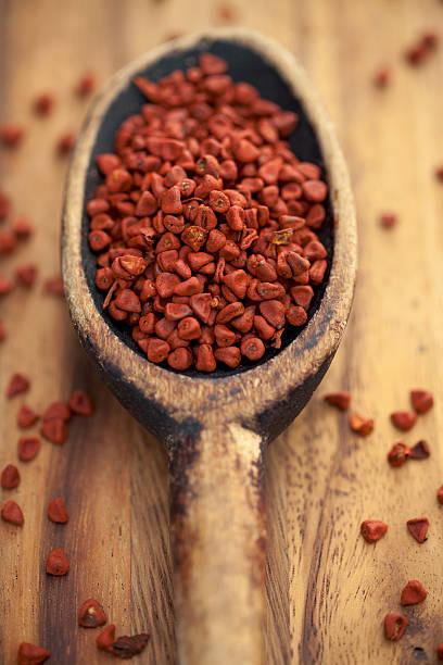Annatto Seed stock photo