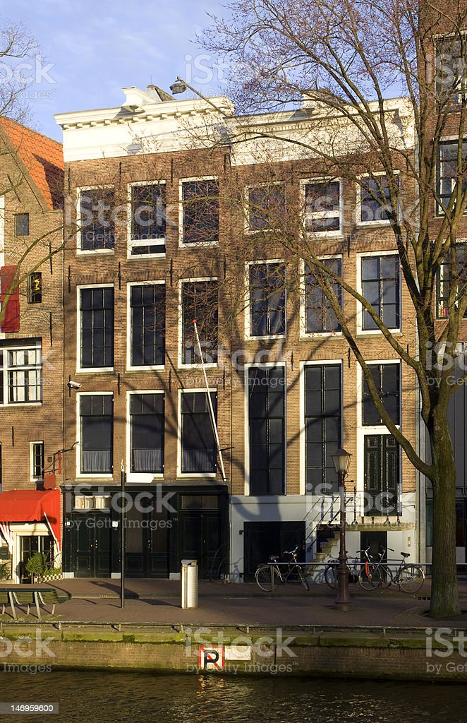 Anne Frank House, Amsterdam, the Netherlands stock photo