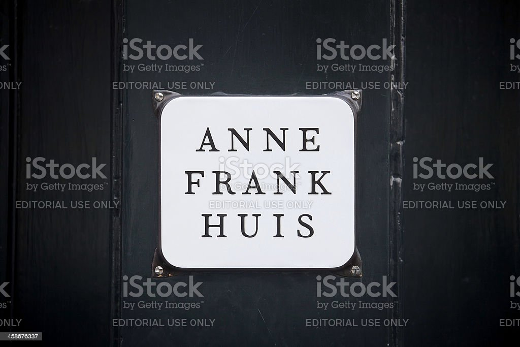 Anne Frank Huis stock photo