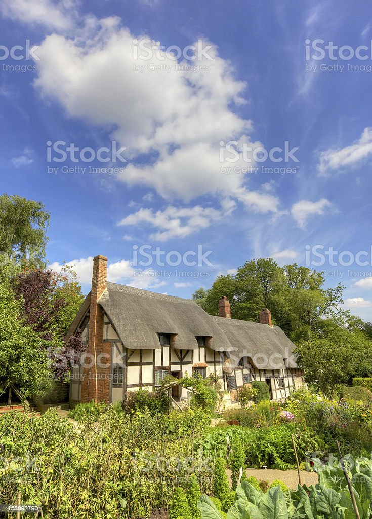 Anne Hathaway's Cottage royalty-free stock photo