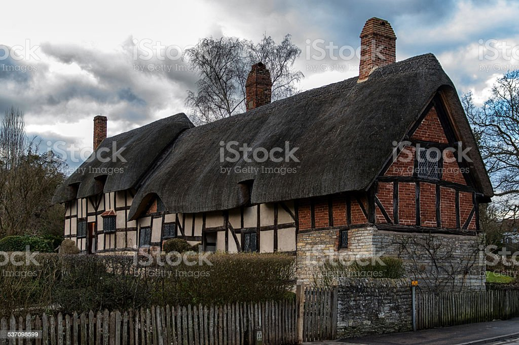 Anne Hathaway's Cottage stock photo