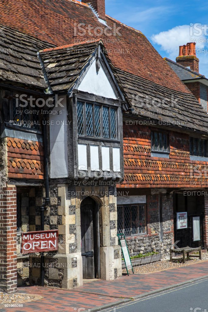 Anne of Cleves House in Lewes, East Sussex, UK stock photo