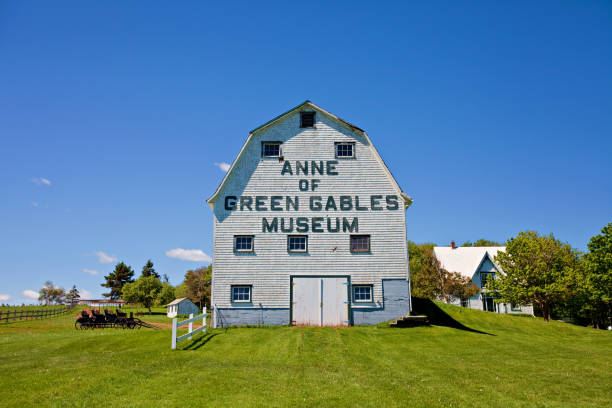 anne of green gables museum - prince edward island stock photos and pictures