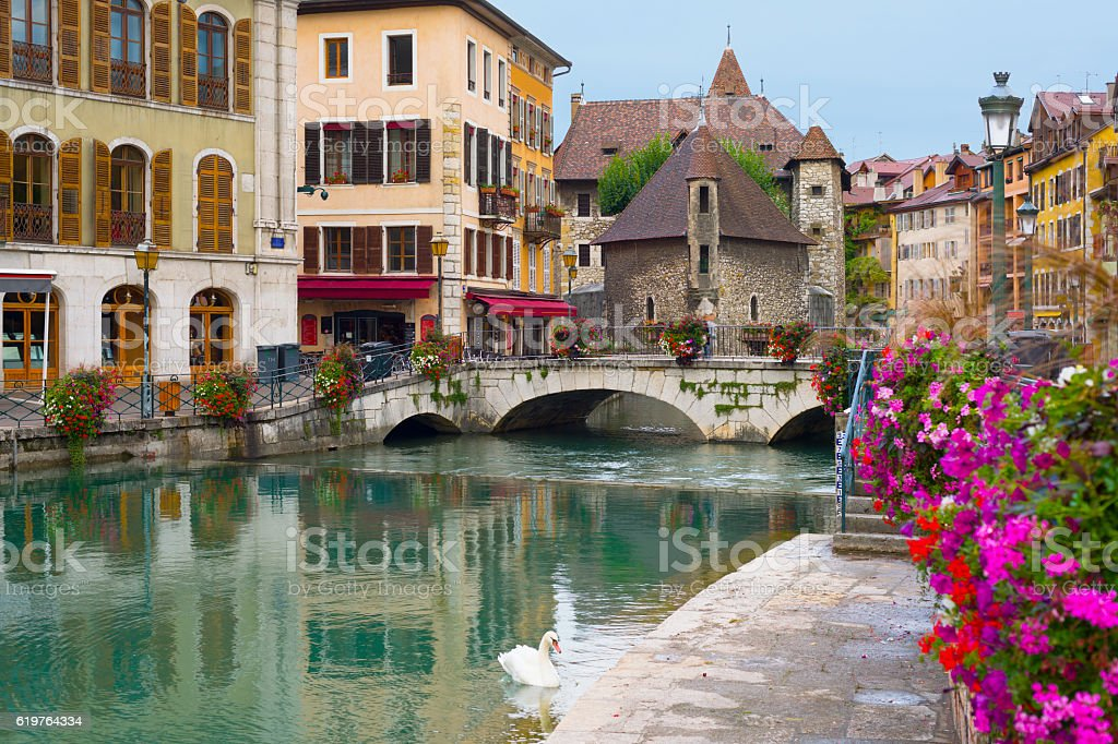 Annecy an a summer day – Foto