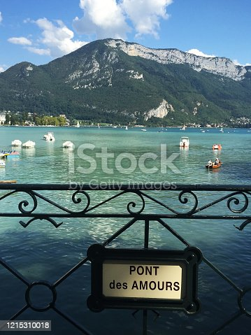 istock Annecy city and canals in southeastern France 1215310018