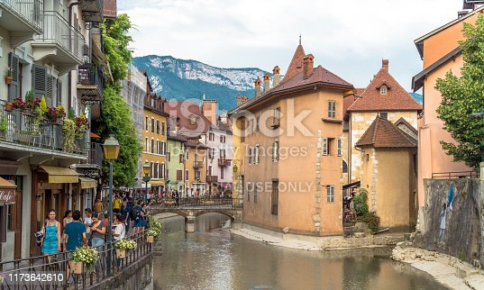 istock Annecy medieval city, France 1173642610