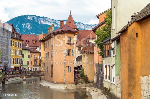 istock Annecy medieval city, France 1173642611