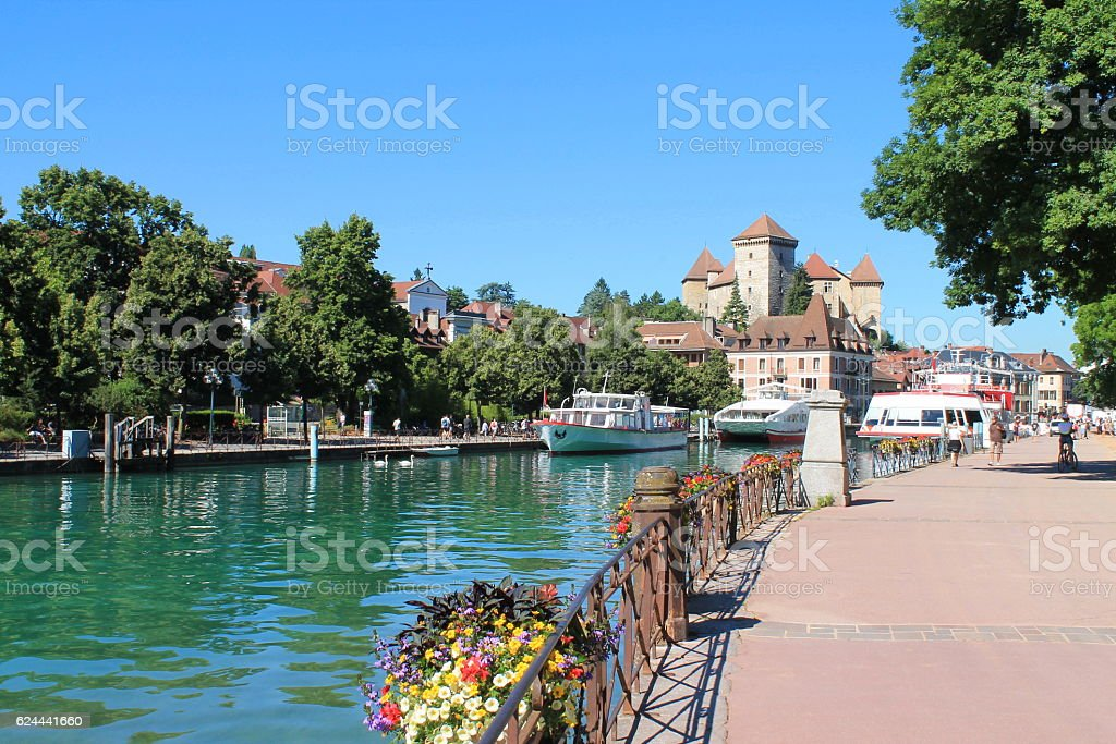 Annecy, the Venice of the Alps in France - Photo