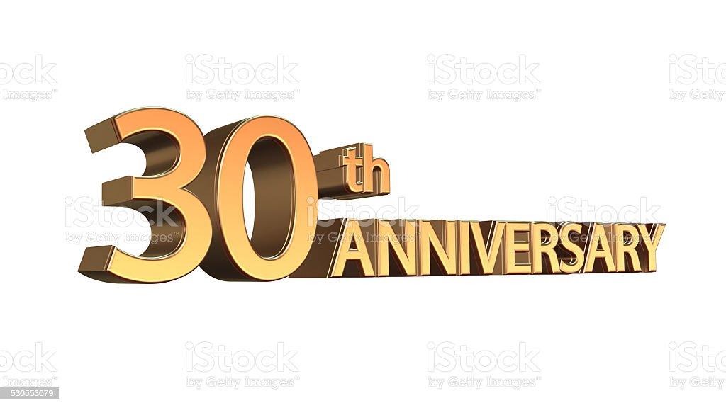 Aniversario 30, treintava aprte Jubilee - foto de stock