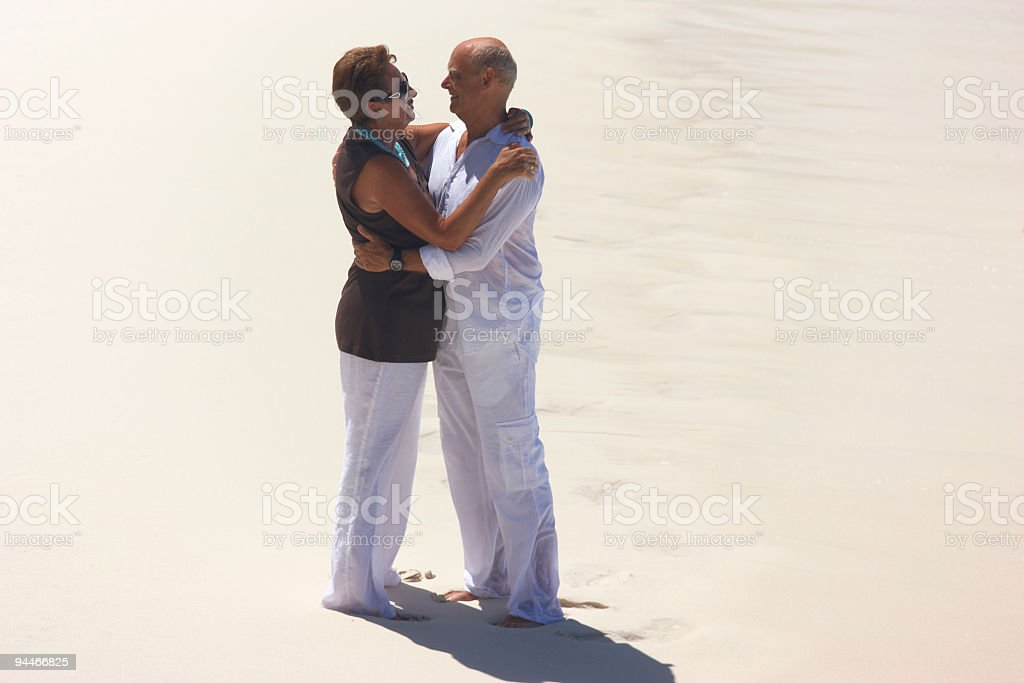 anniversary at seaside royalty-free stock photo