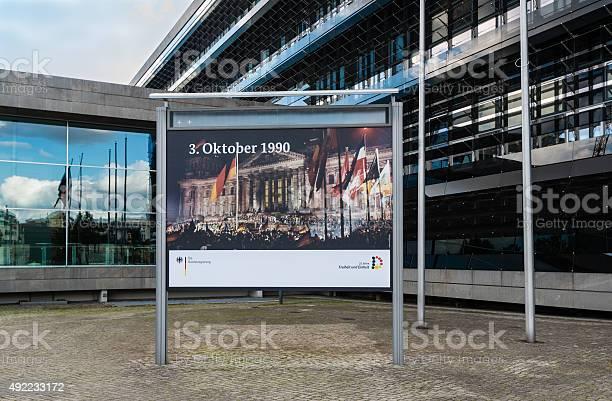 Anniversary of German Reunion