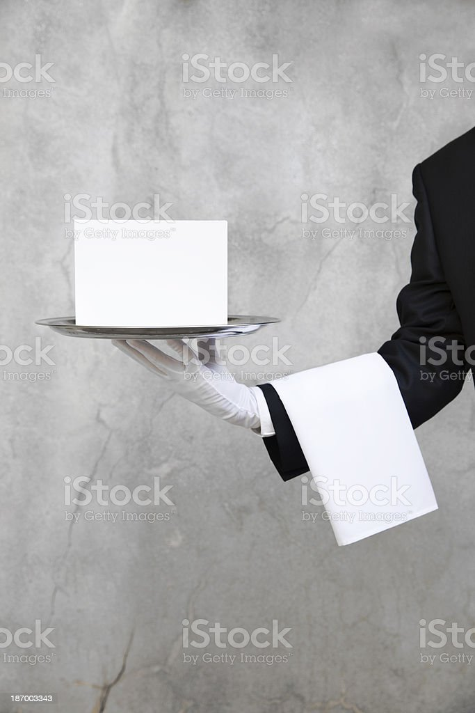 Announcement for You royalty-free stock photo