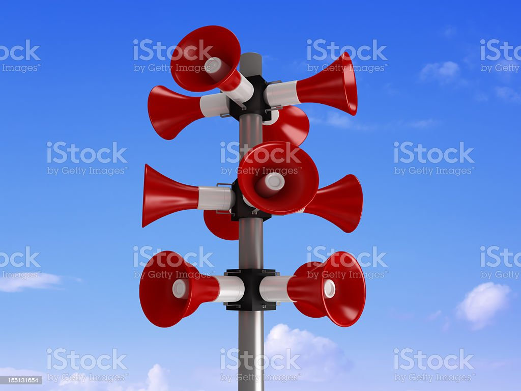 Announcements Message royalty-free stock photo