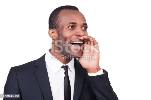 475529255 istock photo Announcing the good news. 475536933