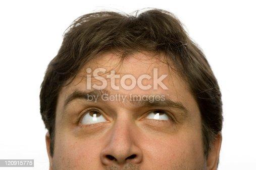 Male headshot - Exasperation look